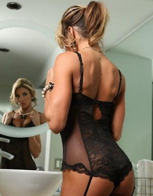 Mom In Lingerie Pics